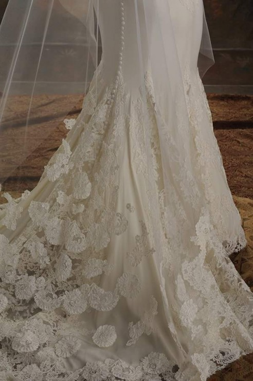 Couture hand stitched wedding gowns