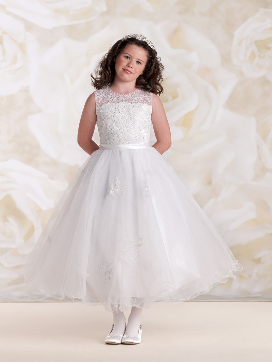 ae5080e26a Joan Calabrese Communion and flower girl dresses at All Brides Beautiful