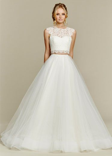 Two Piece Gowns Are Twice As Nice- All Brides Beautiful