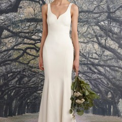 Nicole Miller wedding gown Abigail