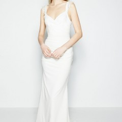 Nicole Miller wedding gown Alexis