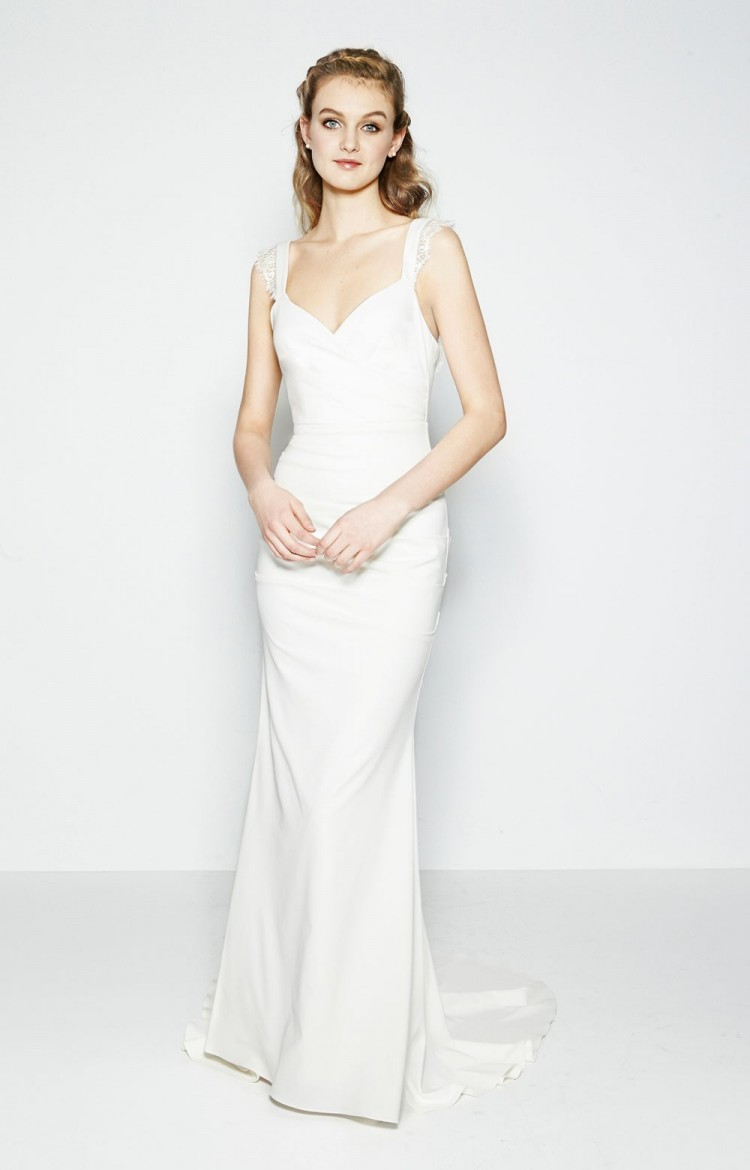 Nicole miller wedding gowns at all brides beautiful for Nicole miller dresses wedding