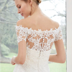 Le Papillon Augusta Lace bridal jacket