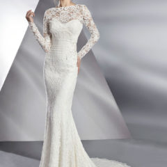 Le Papillon Balboa Lace Bridal Jacket