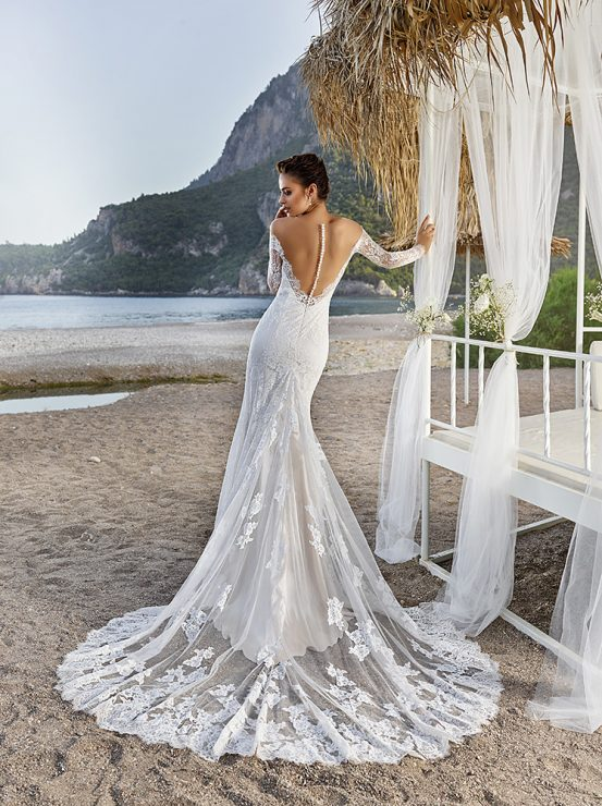 Eddy K Dreams bali wedding gown