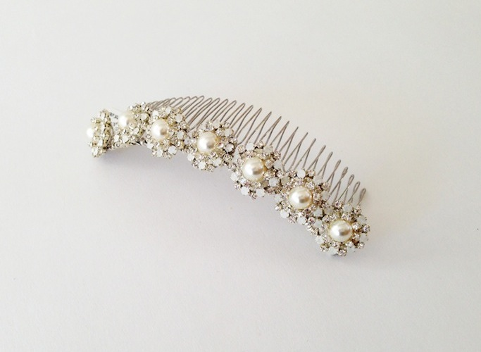 Exquisite Hair Combs by erin cole