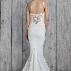 Nicole Miller wedding gown hampton