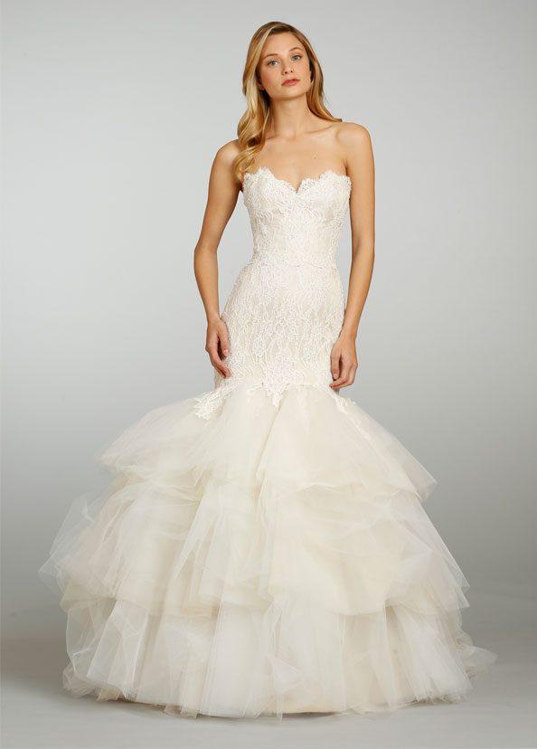 Jim Heljm Wedding Dresses.Jim Hjlem By Hayley Paige Wedding Gowns At All Brides Beautiful