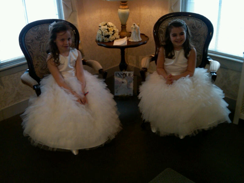 poofy flower girl dresses