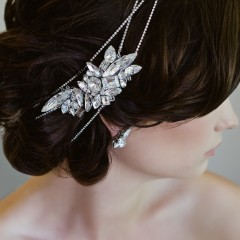 Swarovski bridal Hair Wraps