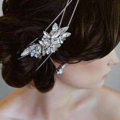 Swarovski bridal Hair Wraps