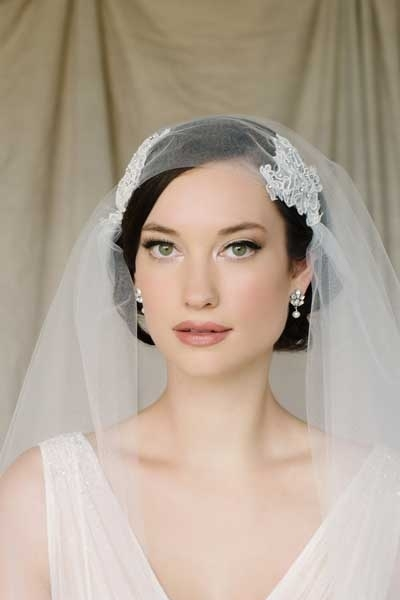 Bridal Caplet Veils