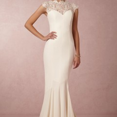 Nicole Miller wedding gown lauren