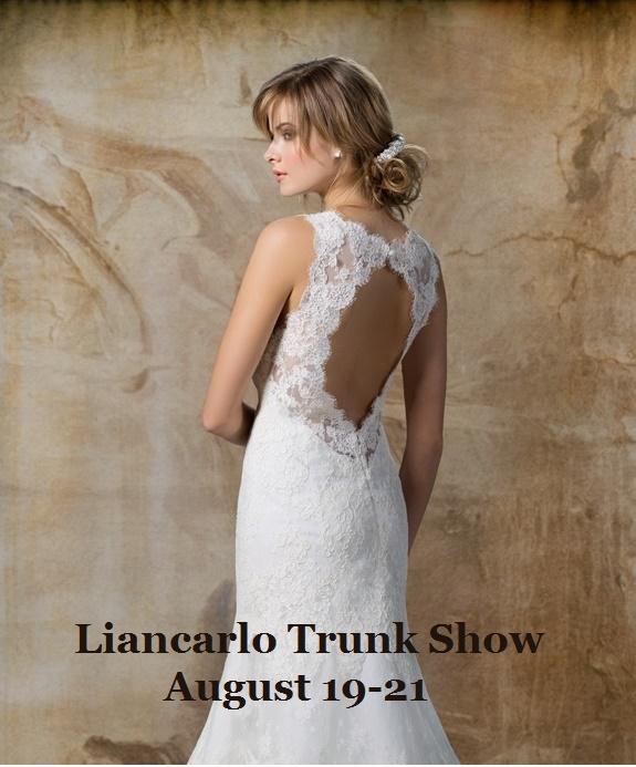 Liancarlo Bridal Gown Trunk Show Sale AllBrideBeautiful