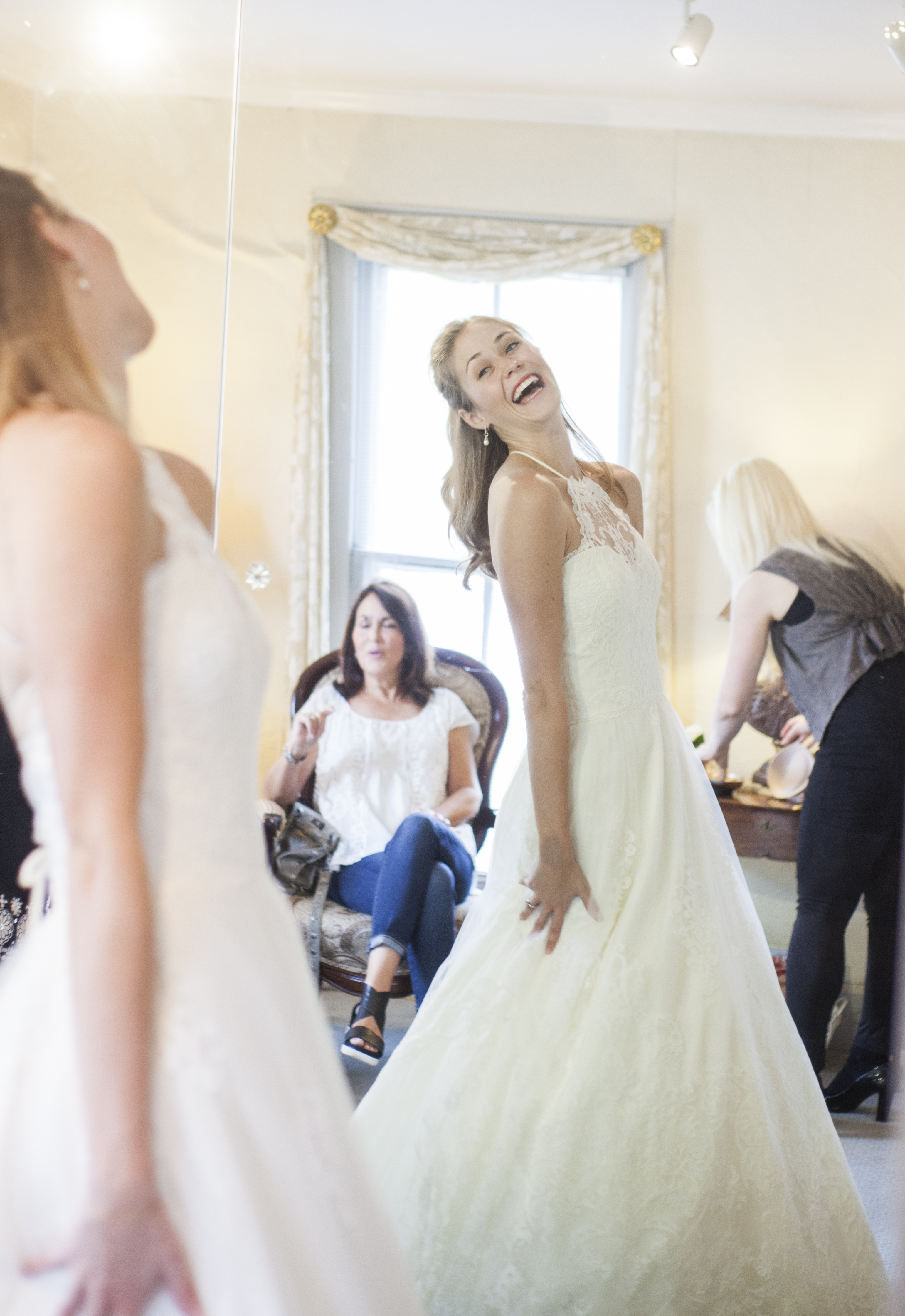 Bridal gown experience
