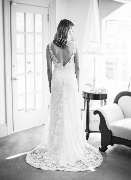 Jim Hjelm all lace gown