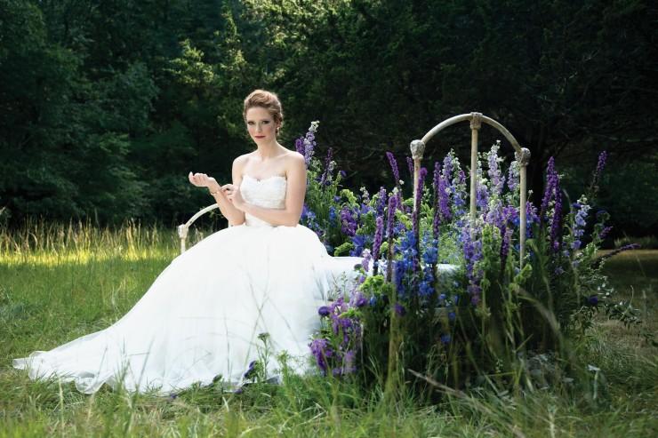 modern trousseau tigerlily bridal gown