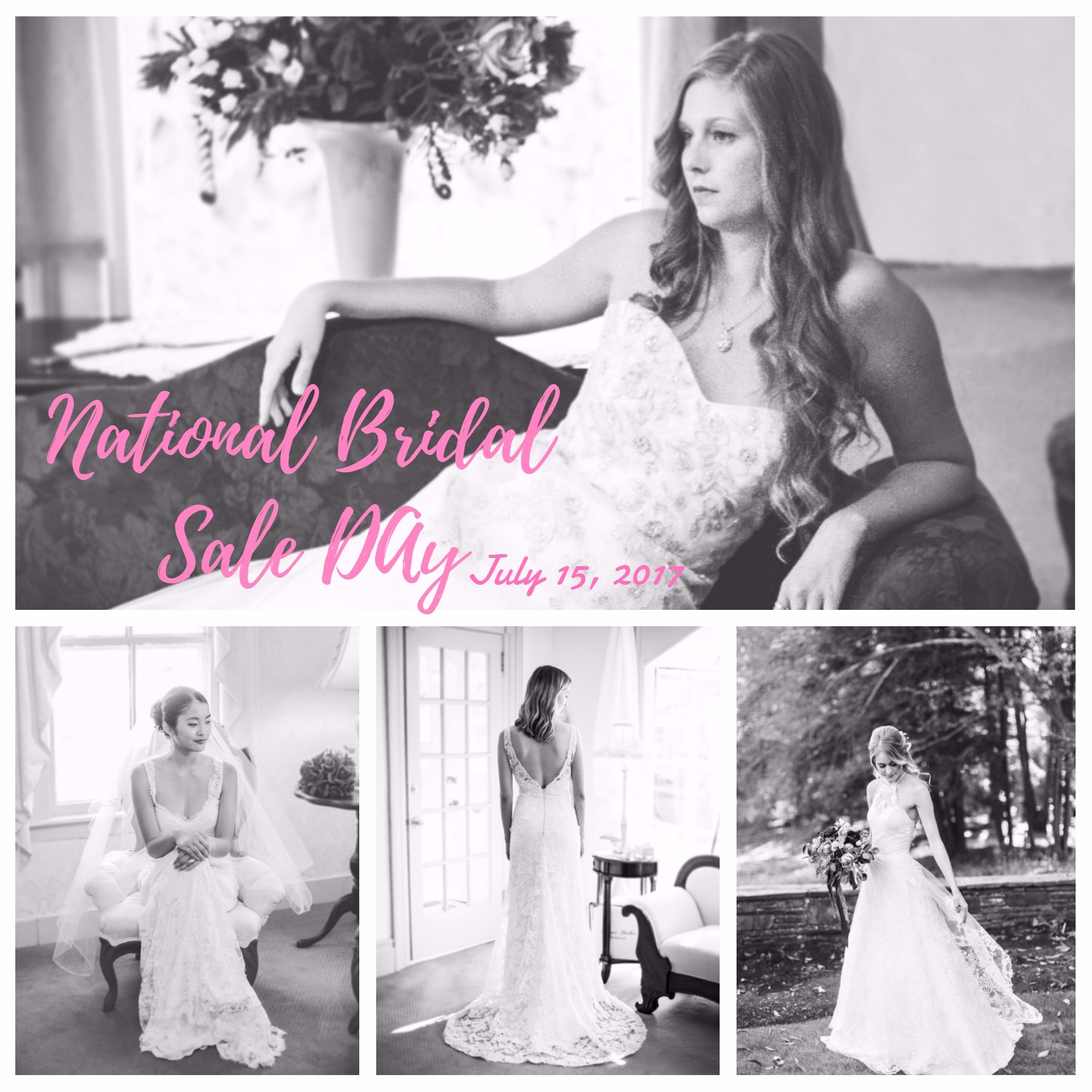 NATIONAL BRIDAL SALE DAY! 90% OFF STOCK GOWNS AT ABB!