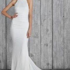 Nicole Miller wedding gown morgan
