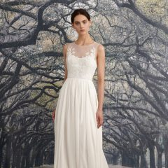 Nicole Miller wedding gown savannah