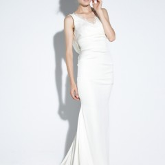 Nicole Miller wedding gown nina