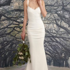 Nicole Miller wedding gown tonya