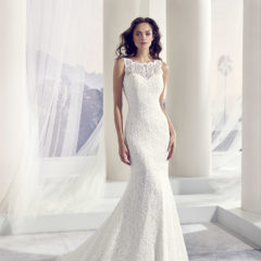Le Papillon Tropical wedding gown