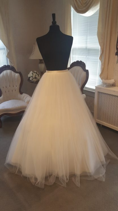 Tulle Ballgown Skirt All Brides Beautiful