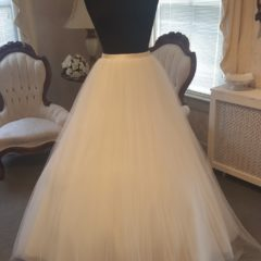Modern Trousseau bridal Tulle ballgown skirt