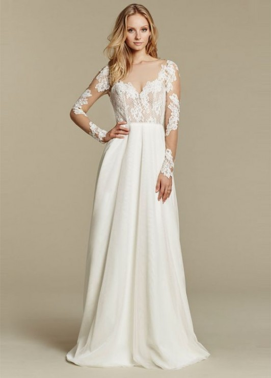Flatter your figure the wedding gown edition all brides for Wedding dresses for larger figures