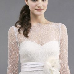jenny yoo addison lace top for wedding gown