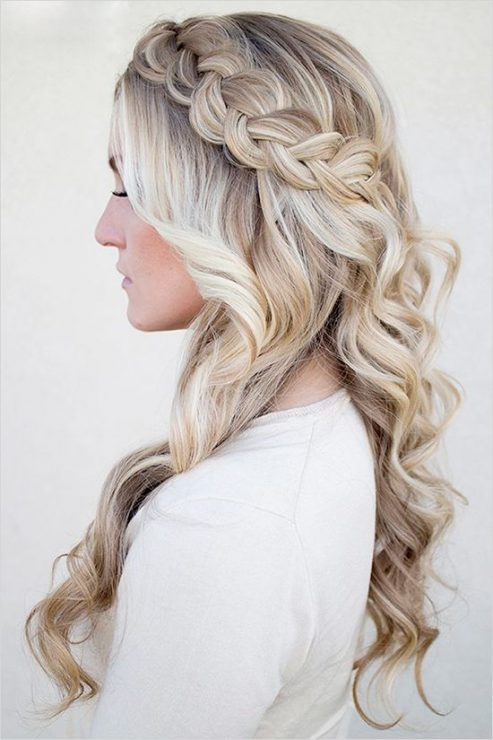 Wedding Hair For The Gown You Ll Wear At All Brides Beautiful