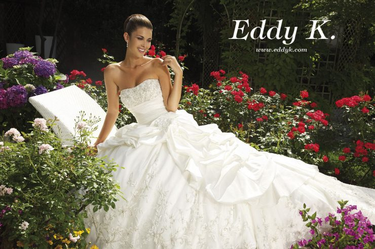 Eddy K Dreams Collection bridal trunk show