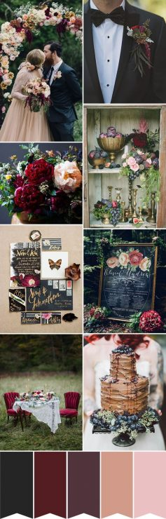 autumn wedding colors