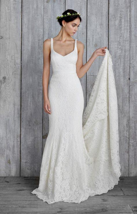 nicole miller boho bridal