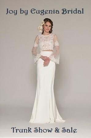 joy by eugenia bridal trunk show