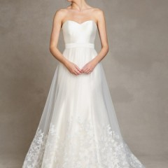 jenny yoo london skirt for wedding gown