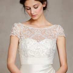 jenny yoo mike beaded top for wedding gowns