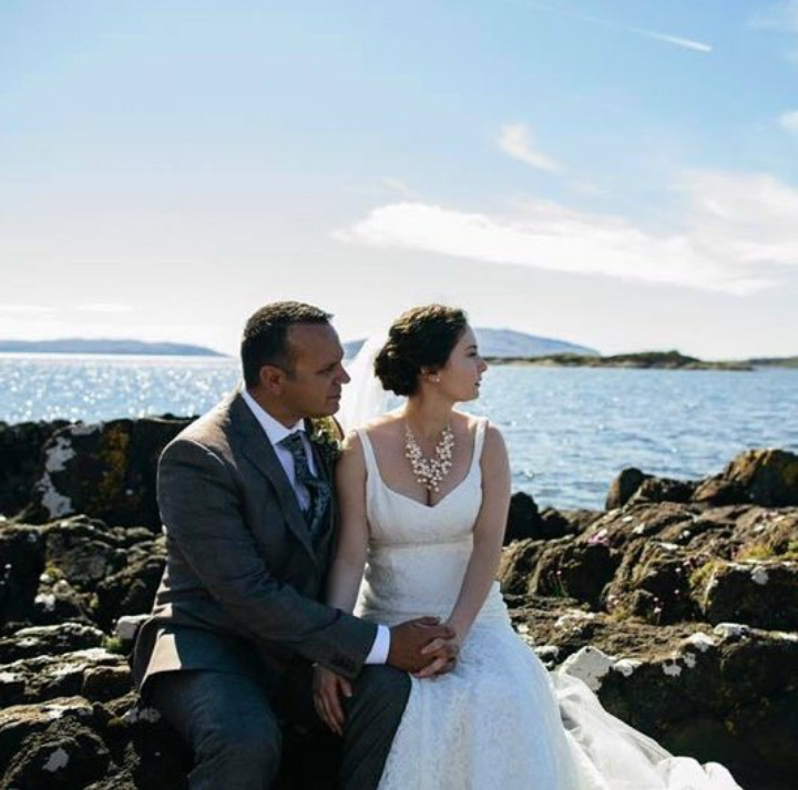 Our bride Sarah's beautiful Scotland wedding
