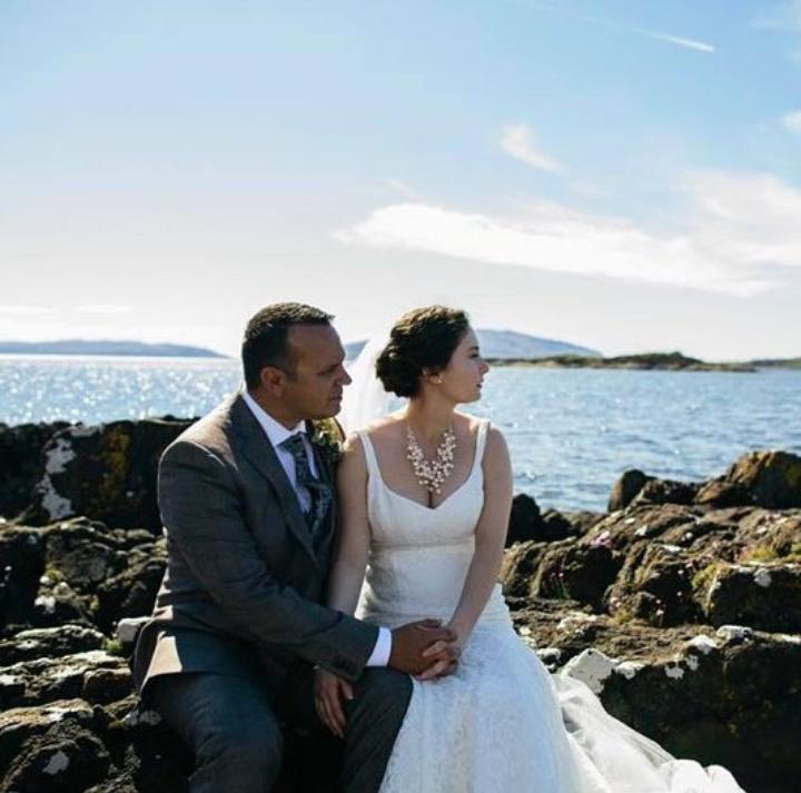 Our bride Sarah's beautiful Scotland wedding