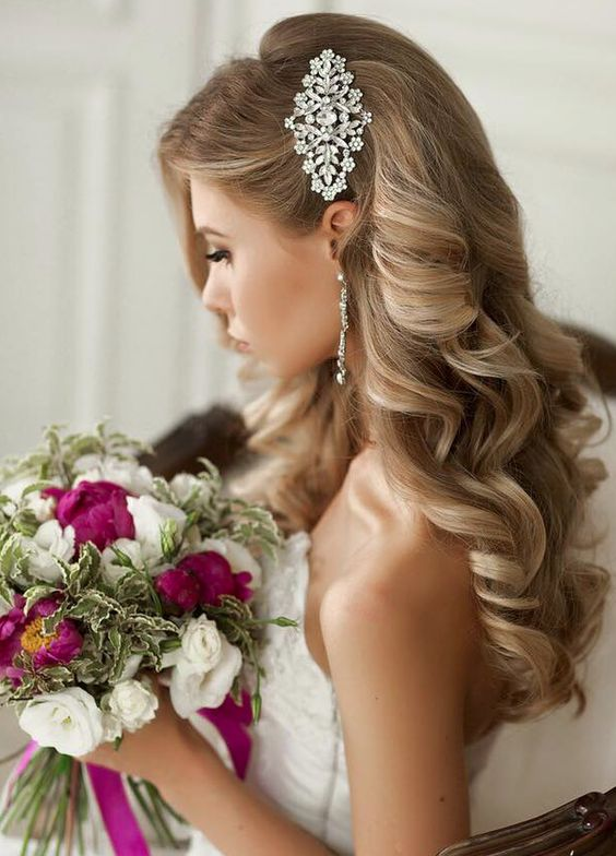 Wedding Hair For The Gown Youll Wear At All Brides Beautiful