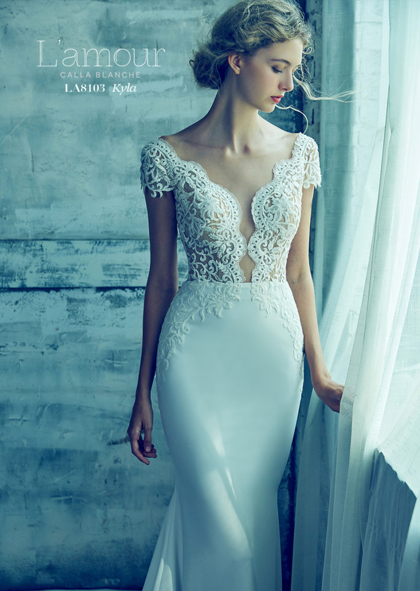 L'Amour Calla Blanche Wedding Gowns and Bridesmaids Ohio   L'Amour ...